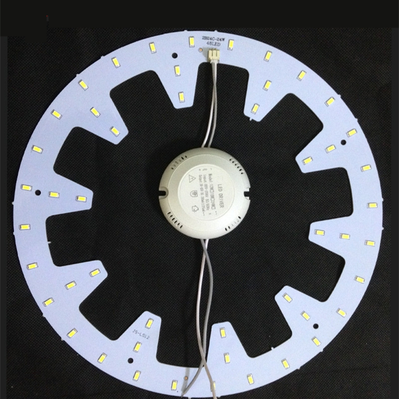 Upgrade LED Light Source Board 5730 Chips Light-source Wholesale Ceiling Lamp Replacement Copper Stent Led-lamp 2pcs epileds 7070 uv purple 395nm led emitter lamp light 6 8v light source for diy on 20mm copper pcb board