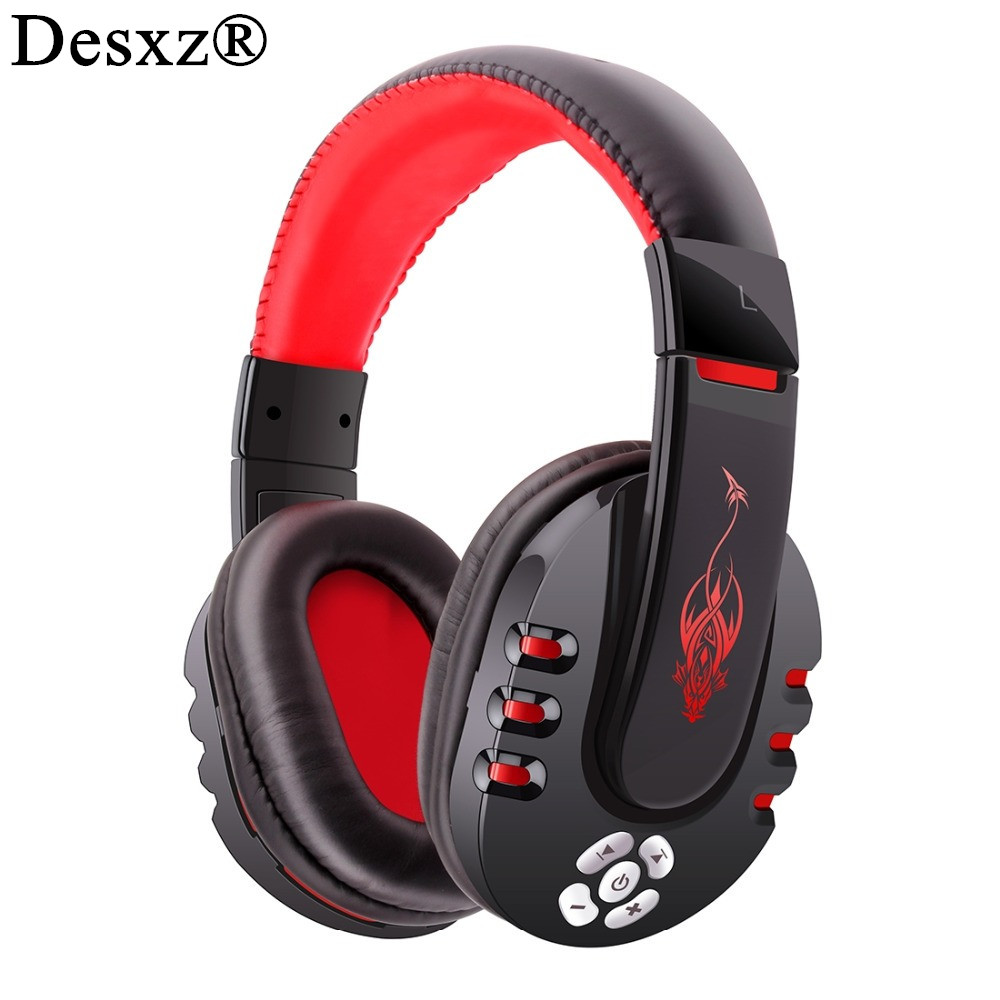 Desxz V8 Gaming Headset Bluetooth Wireless Headphones Portable Stereo Head Phones Mp3 Music Earphone With MIC For Mobile phone