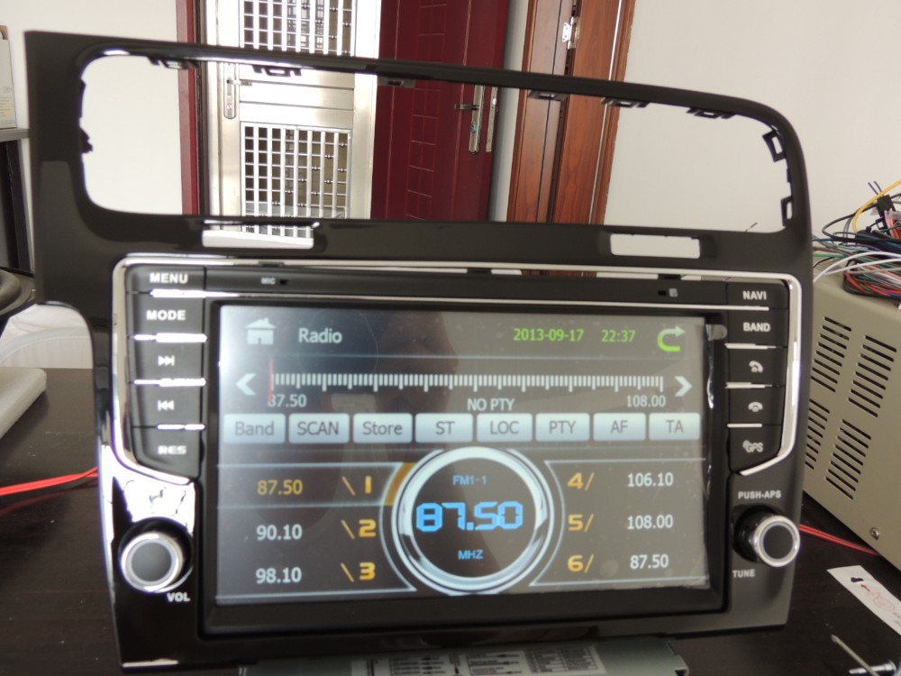 buy yokotron 9 touch tft car radio dvd autoradio audio for vw golf 7 2013. Black Bedroom Furniture Sets. Home Design Ideas