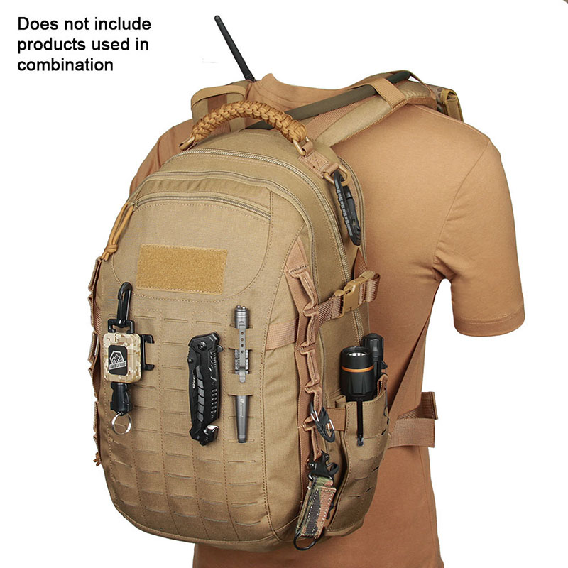 New 38L 500D Fabric Military Unisex Backpack CB Color Waterproof Bags Solid Travel Trekking Bag CL5-0070 new arrival 38l military tactical backpack 500d molle rucksacks outdoor sport camping trekking bag backpacks cl5 0070