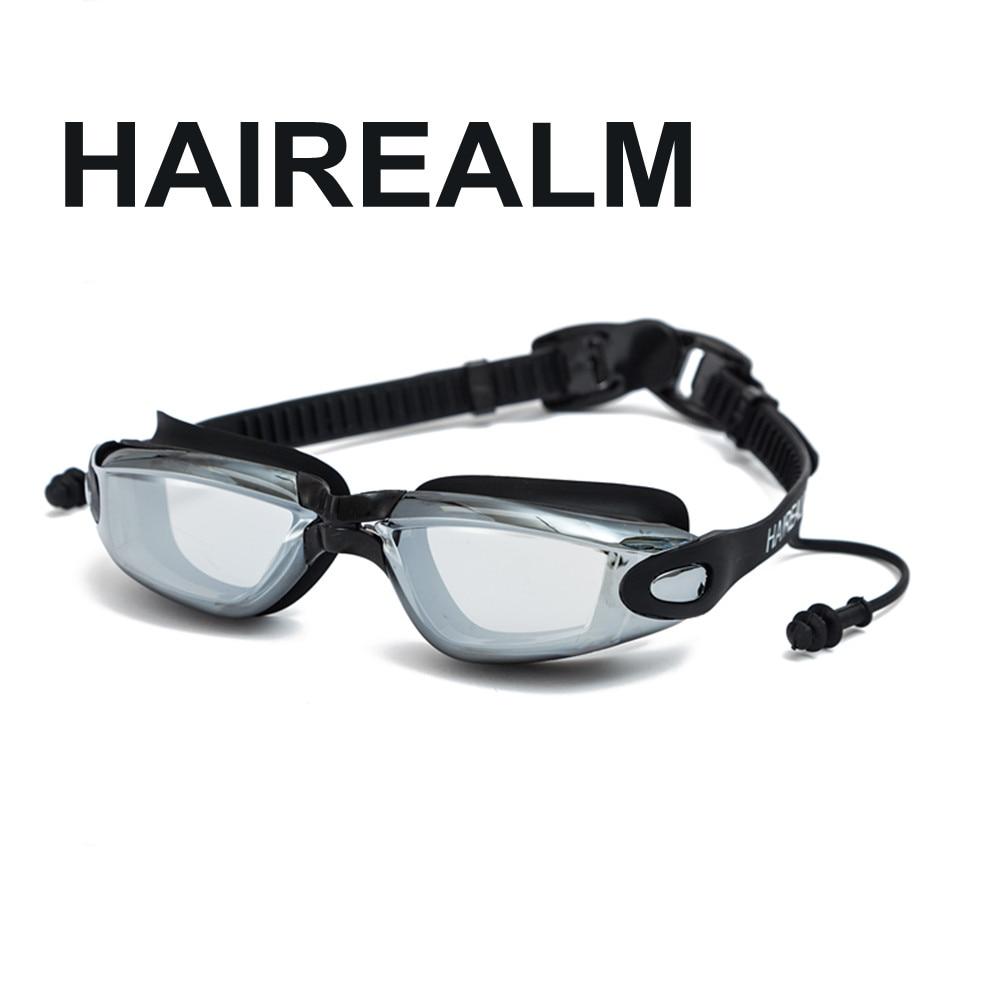 b7cf0d9fe0 Dropwow Professional Silicone myopia Swimming Goggles Anti-fog UV ...
