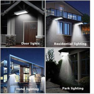 Image 3 - Новый Солнечный 70 LED датчик движения свет Открытый Сад Путь Уличный настенный светильник уличная лампа водонепроницаемый