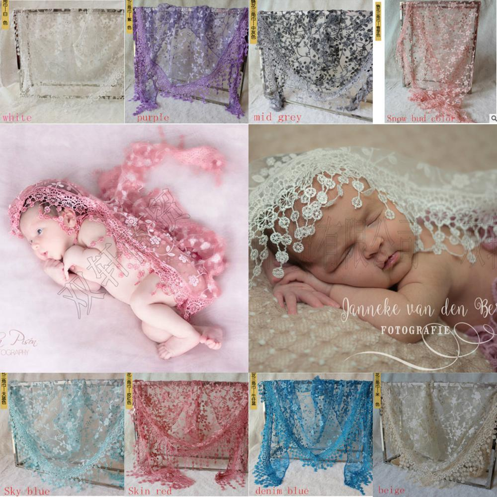 Stretch Lace Wrap Newborn Photography Accessories Baby Shower Gift Swaddling Baby Accessories Photo