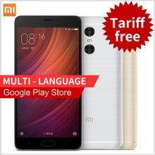 Оригинал, Xiaomi Redmi Pro 4G, мобильный телефон с функцией отпечатка пальца ID, металлический корпус, 5.5 дюймов OLED экран, Helio X25, 10-ядер, 64-бит процессор