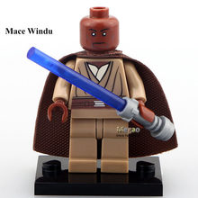 Single Sale Mace Windu Emperor Palpatine Block Custom Made Bricks Classic Best Children Gift Toys(China)