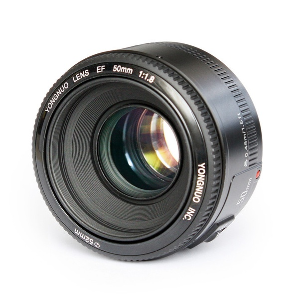 YONGNUO YN 50MM F1.8 Large Aperture Auto Focus Lens For Canon EF Mount EOS Camera цена