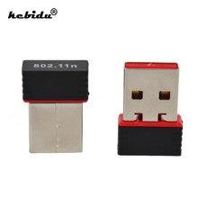 Kebidu 5 stücke USB 2,0 WiFi Empfänger Wireless 150Mbps Netzwerk LAN Karte Adapter Mini 150M 802,11 n/g/b Ralink MT7601