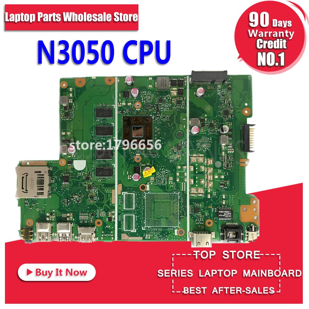 With 4G RAM + N3050 CPU X441SC Laptop Motherboard For ASUS X441SC X441S A441S Test Original X441SC Mainboard