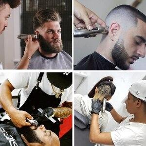 Image 2 - حلاق محترف مشذب شعر صفر لحية trimer للرجال الانتهاء من آلة قص الشعر الكهربائية حافة بطانة حلاقة