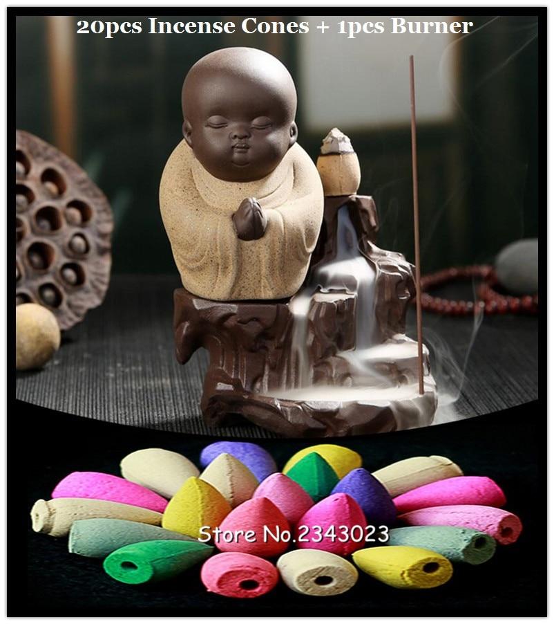 Zen Incense Monk 4