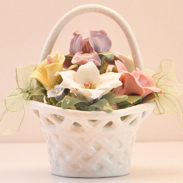 Underglaze color ceramic music box music box spring flower baskets underglaze color ceramic music box music box spring flower baskets birthday gift ideas to send his mightylinksfo