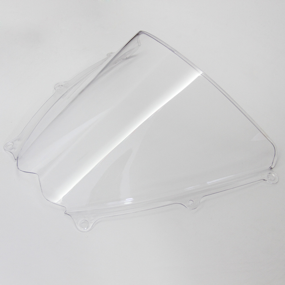 Motorcycle Transparent Double bubble Windshield / Windscreen For <font><b>Suzuki</b></font> GSXR <font><b>GSX</b></font>-R1000 K7 2007 <font><b>2008</b></font> image