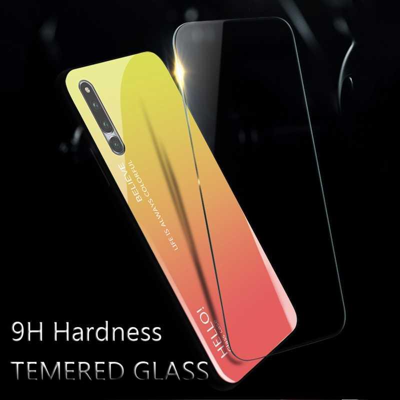 """UPaitou для Huawei HONOR Magic 2 Чехол полное покрытие из закаленного стекла чехол для HONOR Magic 2 (6,39 """") края из ТПУ + 9 H стеклянный корпус"""