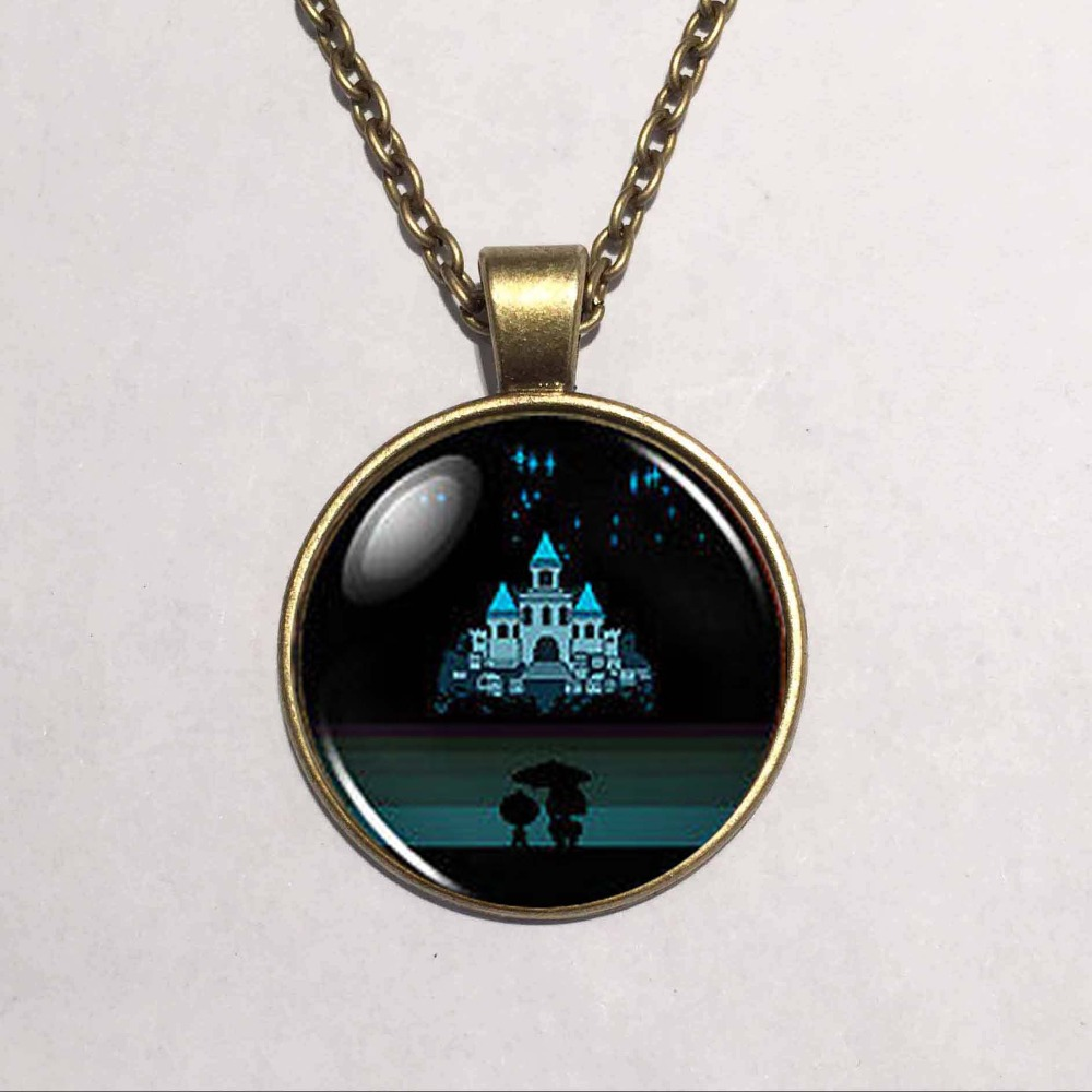 Jewelry & Accessories Able Undertale Flower Hearts Game Gaming Mens Handmade Fashion Necklace Brass Silver Pendant Steampunk Jewelry Womens New Chain Toy Necklaces & Pendants
