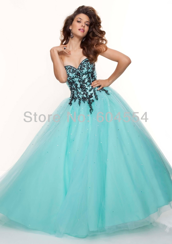 Compare Prices on Blue Ball Gown Prom Dresses- Online Shopping/Buy ...