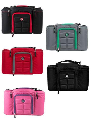 2015 free shipping 6 Pack Bag Innovator 300 Black Red Fitness bag Meal  Management lunch cooler bag 6fd025c4e599d