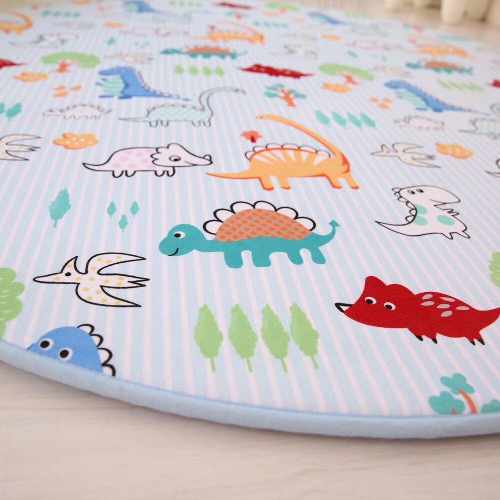 Enfants bande dessinée série tapis rond ordinateur chaise tapis de sol maison tapis enfants chambre enfants jouer tente zone tapis doux tapis chambre - 4