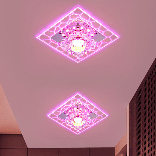 Crystal LED Ceiling Lights Modern Ceiling LED lamp Surface Mounted ...