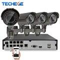 8-КАНАЛЬНЫЙ 1080 P Сетевой Безопасности Камеры POE NVR система 2.8-12 мм с переменным фокусным расстоянием 1080 P IP водонепроницаемый P2P Системы Видеонаблюдения Комплекты