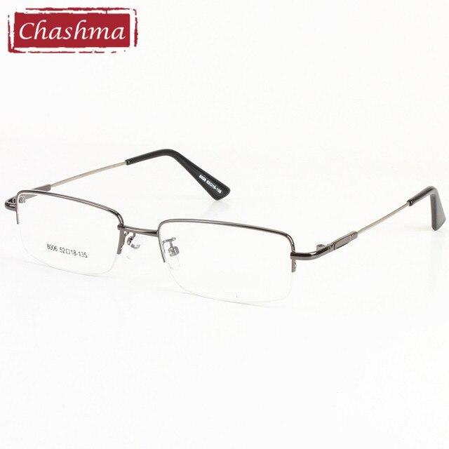 b73a1cde924c9 Chashma Memória Liga de titânio de Alta Qualidade Óculos de sol Gafas Homens  Óculos de Meia