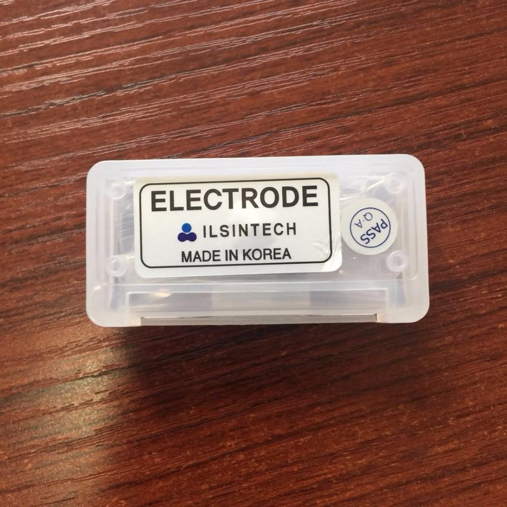 original ILSINTECH EI-19 electrode for Swift-F1 Swift-F3 KF2A Fiber Fusion Splicer fiber splicing machine electrodes 1 Pairoriginal ILSINTECH EI-19 electrode for Swift-F1 Swift-F3 KF2A Fiber Fusion Splicer fiber splicing machine electrodes 1 Pair