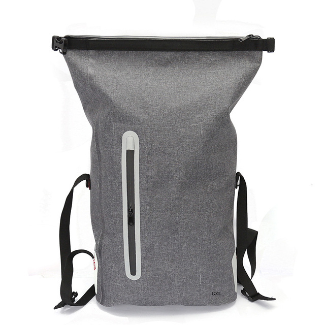 Gzl 25l Simple Classic Fashion Urban Style Volume Mouth Waterproof Rolly Backpack Travel Bag