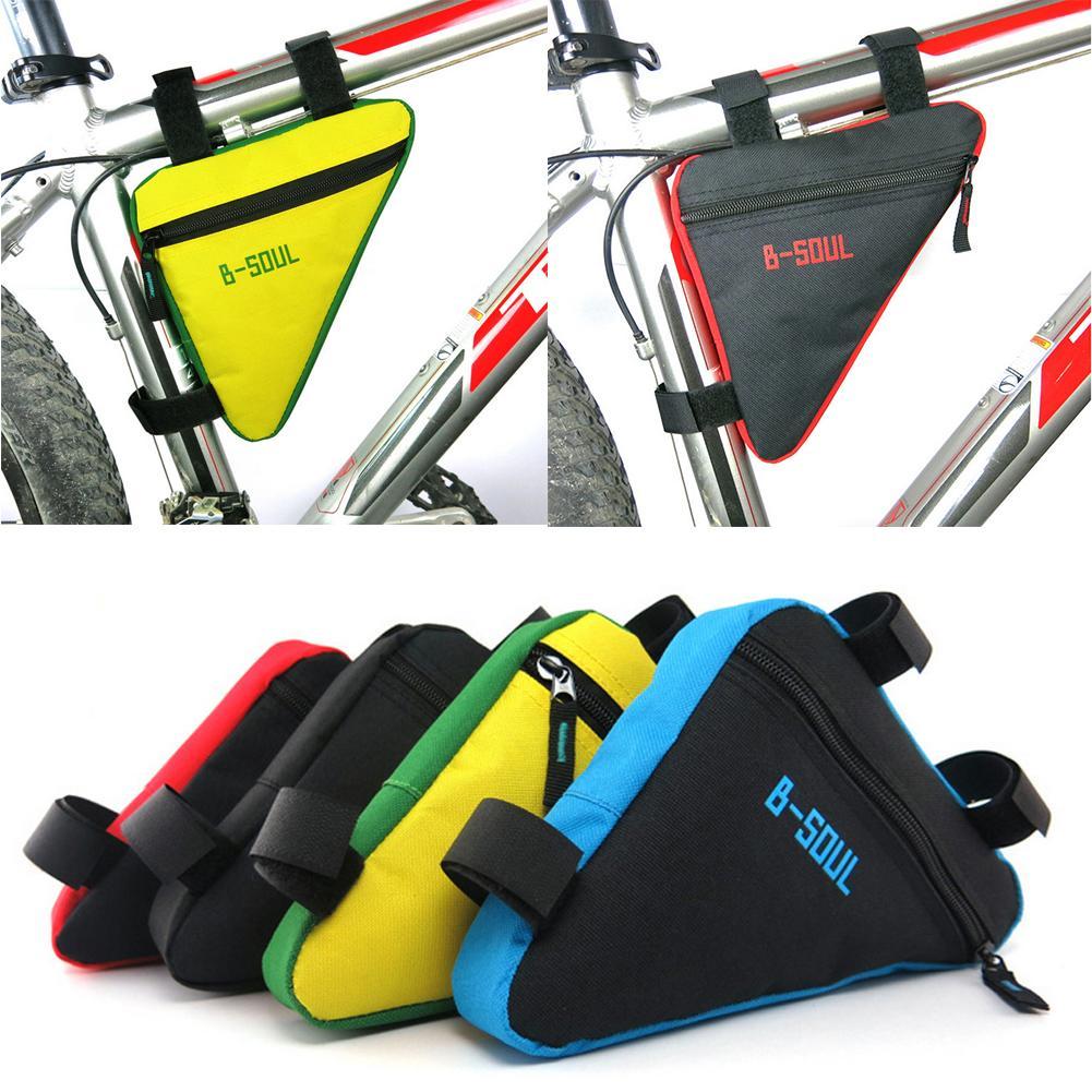 B-SOUL Waterproof MTB Road Bike Bicycle Front Bag Cycling Top Tube Frame Bag New