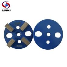 RIJILEI 12PSC/Set  Metal Bond Diamond Grinding Disk 3