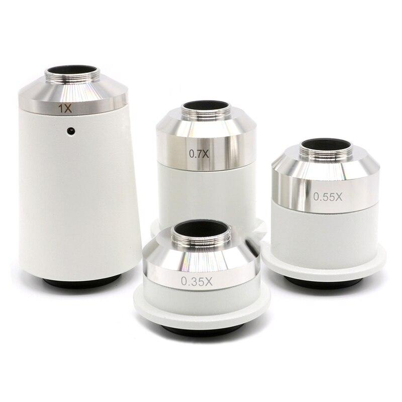 0 35X 0 55X 0 7X 0 8X 1 2X C Mount Lens Microscope CCD CMOS