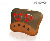 High quality kneading Massage pillow magnet therapy neck massager neck lumbar back massage cushion head massager