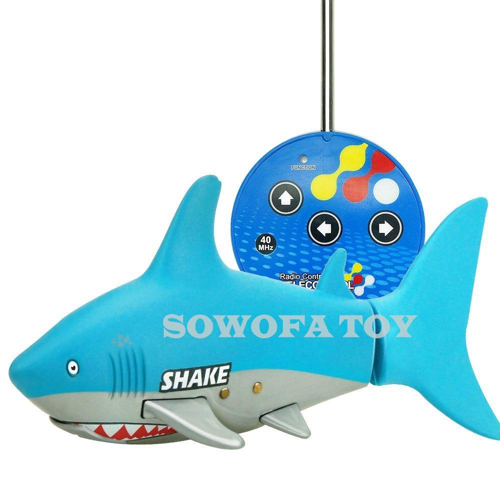 Control remoto Mini RC Shark juguete electrónico Fish Ocean Animal - Juguetes con control remoto - foto 2