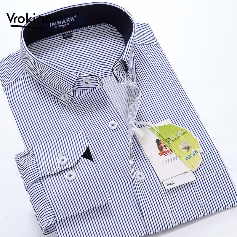 7XL 8XL 9XL 10XL 2019 Spring And Autumn New Men's Business Casual Long Sleeve Shirt Fashion Exquisite Loose Large Size Shirt