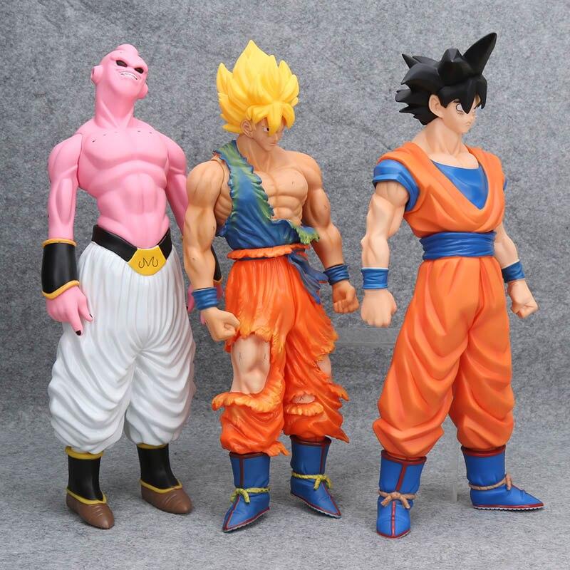 Toys & Hobbies Dragon Ball Z Action Figures Majin Buu Super Saiyan Face Change Anime Dragon Ball Z Dbz Collectible Model Toy 130mm