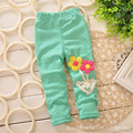 Free shipping Children's ideas small pants Girls leggings Baby open shelves for files pants