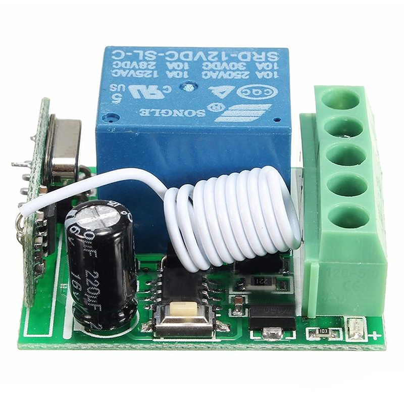 MAHA Relais relay module DC 12V 1 Channel Relay RF Wireless Remote Control Switching Supply cm300dy 12 module