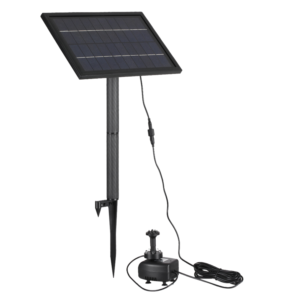 10v 5w Solar Powered Brushless Water Pump Built In Storage