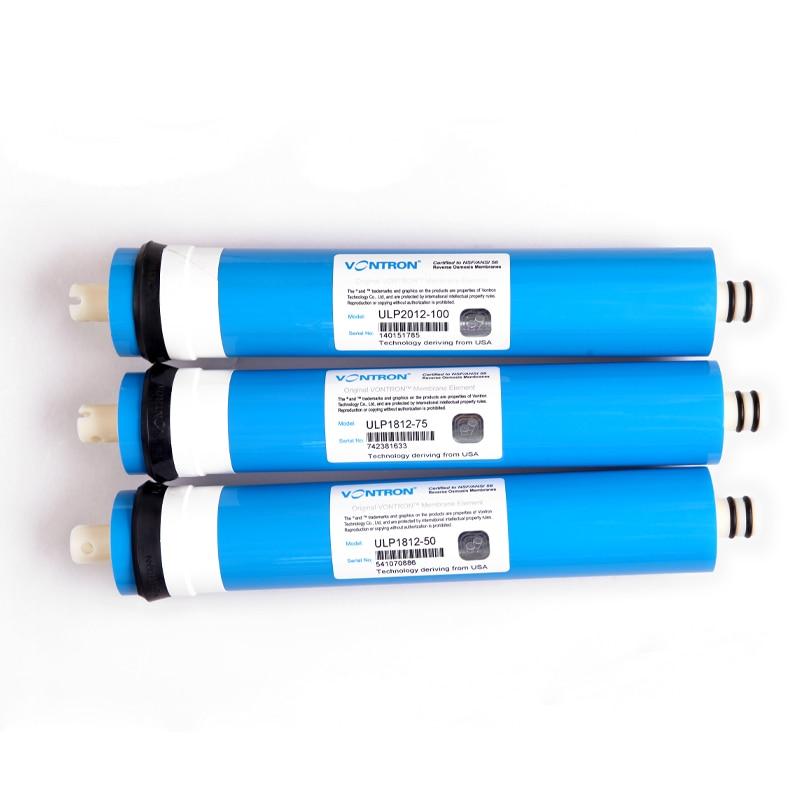New Vontron ULP1812-50 résidentiel filtre à eau 50 gpd RO Membrane NSF utilisé pour osmose inverse système