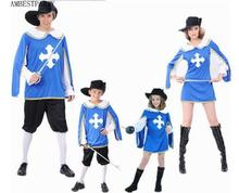 2017 Lovers clothing children Adults Acient Greece Roma Sparta Warrior Cosplay costume knight Performance clothing AMBESTPARTY