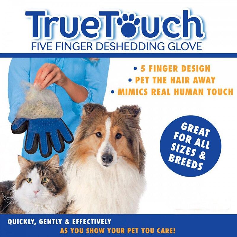 Dog Cat <font><b>Hair</b></font> Comb Cleaning Brush <font><b>Animal</b></font> <font><b>Massage</b></font> <font><b>Hair</b></font> <font><b>Removal</b></font> Dog <font><b>Grooming</b></font> True Touch Shedding Brush <font><b>Bath</b></font> <font><b>Gloves</b></font>