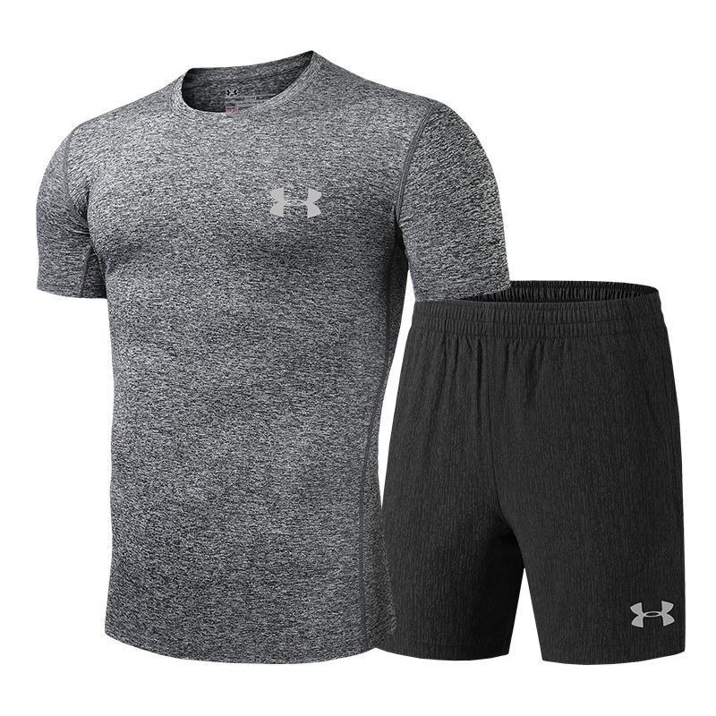 New Arrival Under Armour Men Training Suits Quick Drying cation Sports Suits Male Four-sided bomb Gym Clothing Size L -5XLNew Arrival Under Armour Men Training Suits Quick Drying cation Sports Suits Male Four-sided bomb Gym Clothing Size L -5XL