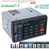 2G RAM Android 7 1 2 Din Universal Central Multimedia Car No DVD Player Radio GPS