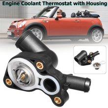 #11537512733 #11537512734 Motor Refrigerante Termostato Com Habitação Para Para BMW MINI R50 R52 R53 Cooper S 2003 2004 2005 2006 2007