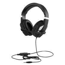 Pro Gaming Headset with Noise Canceling Mic Soft Memory Earmuffs Surround Sound Headphone for Xbox One PS4 PC
