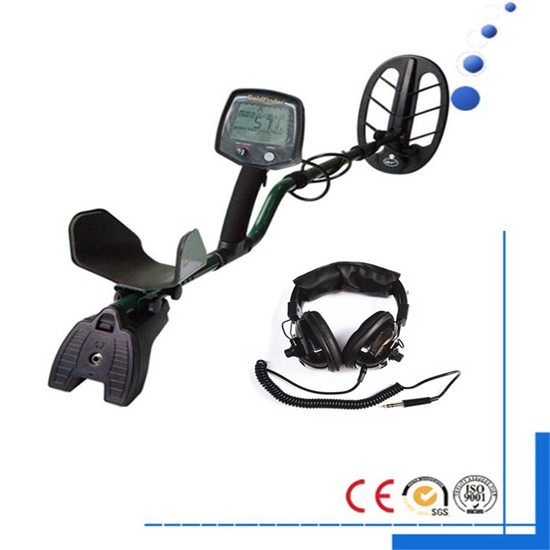Professional Metal Detector GF2 Underground Metal Detector Gold High Sensitivity and LCD Display Metal Detector Finder Free Ship professional deep search metal detector goldfinder underground gold high sensitivity and lcd display metal detector finder