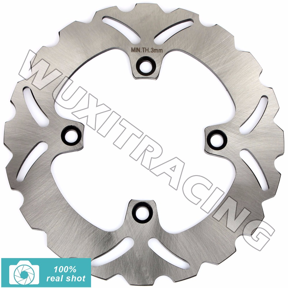Rear Brake Discs Rotors for KAWASAKI ZZR 400 600 90-93 ZR 750 Zephyr 91-99 01 02 ZX6 ZX12 R NINJA 95 96 97 00 01 02 03 04 05 06 motorcycle rear brake disc rotors for zr 550 zephyr 93 01 universel