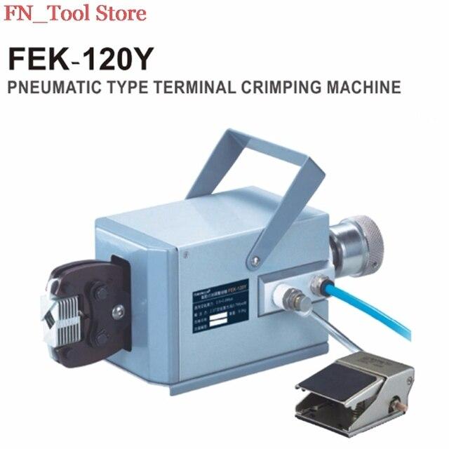 FASEN FEK 120Y High Quality Pneumatic Type Crimping Machine Air ...