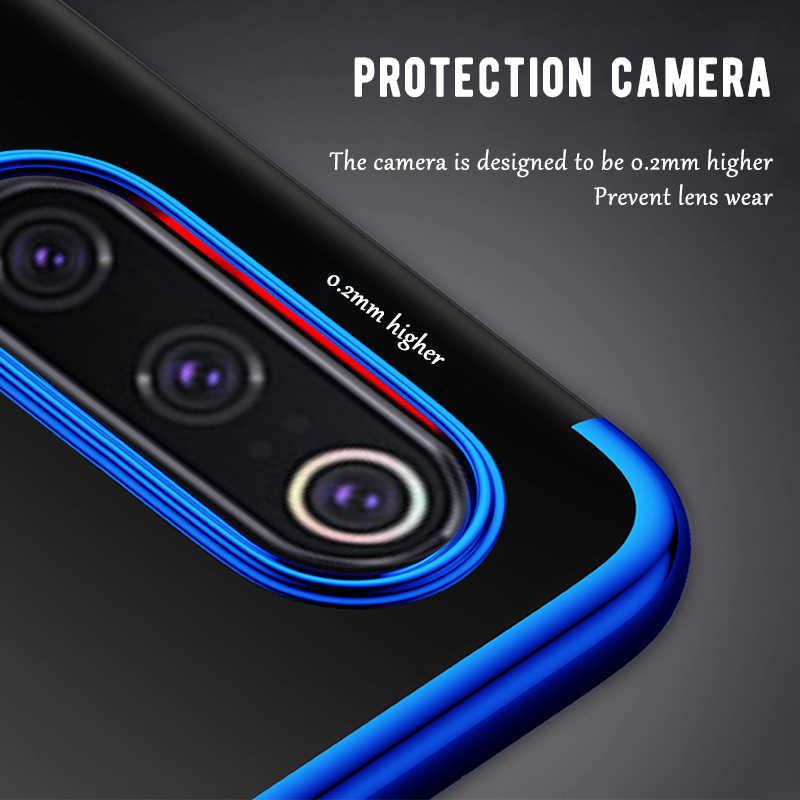 Untuk Xiao Mi Mi 9 Case Plating TPU Phone Case untuk Xiao Mi Mi 8 A2 Lite Mi 9 SE a1 Poco F1 MI 6 Max 3 Mi X 3 2 2 S 6X 5X Silicone Cover