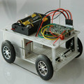 Four-way remote control car kit DIY toy handmade puzzle assembling electric toy car Tank