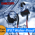 DACOM P10 Bluetooth Earphone IPX7 Waterproof Wireless Sports Swimming Running Headphone Stereo Music Headset BT4.1 for phones