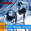 P10 dacom fone de ouvido bluetooth ipx7 à prova d' água de natação bt4.1 execução de fone de ouvido estéreo música esportes fone de ouvido sem fio para telefones